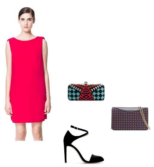 look formal vestido rojo
