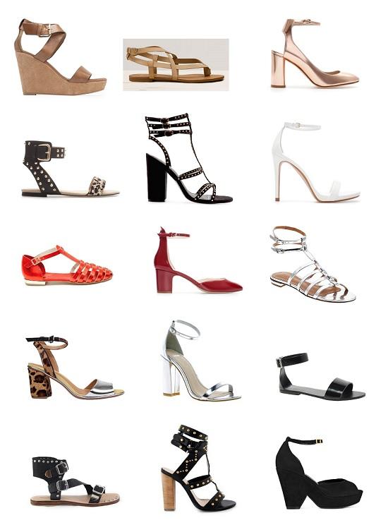 shopping sandalias