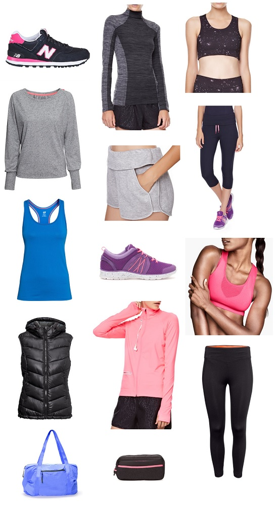 sport garments shopping