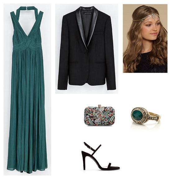 look invitada vestido largo
