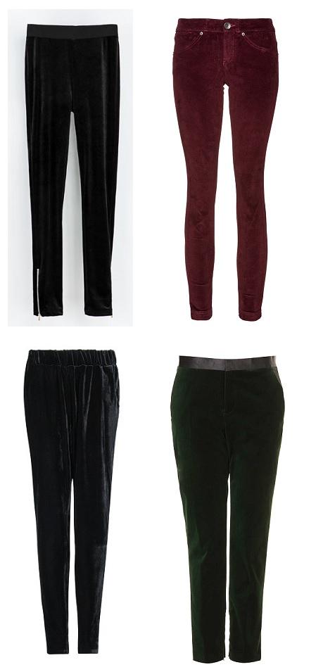 shopping pantalón terciopelo