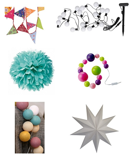 party home deco