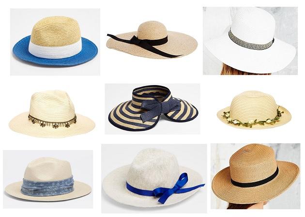 shopping hats