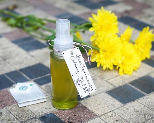 green tea body spray