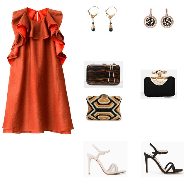 look vestido cocktail H&M conscious collection