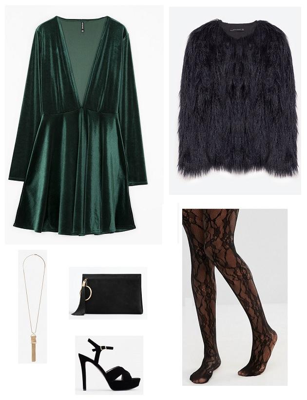 look-vestido-terciopelo-verde