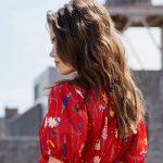 look-boda-vestido-rojo-floral