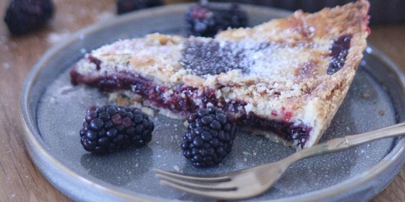 receta-tarta-arándanos-moras