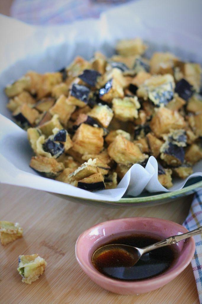 Berenjena-tempura-salsa- soja-miel