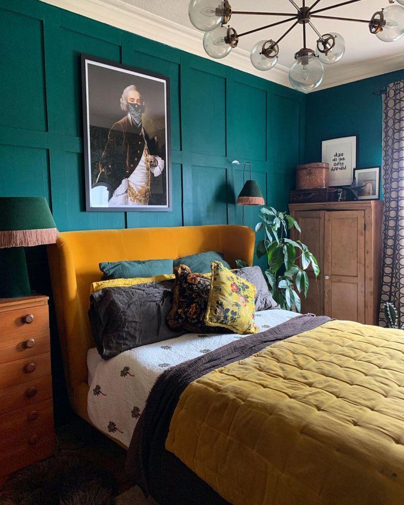 decoración-dormitorios-amarillos