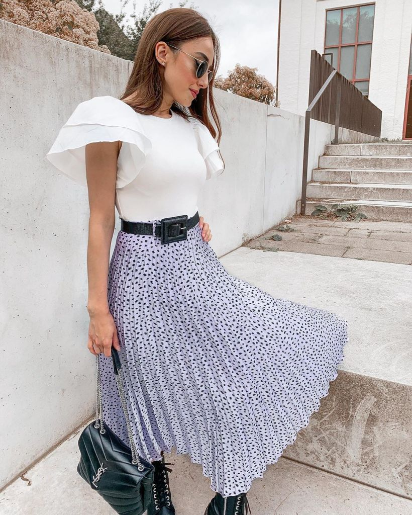 looks-falda-estampada-lila-zara