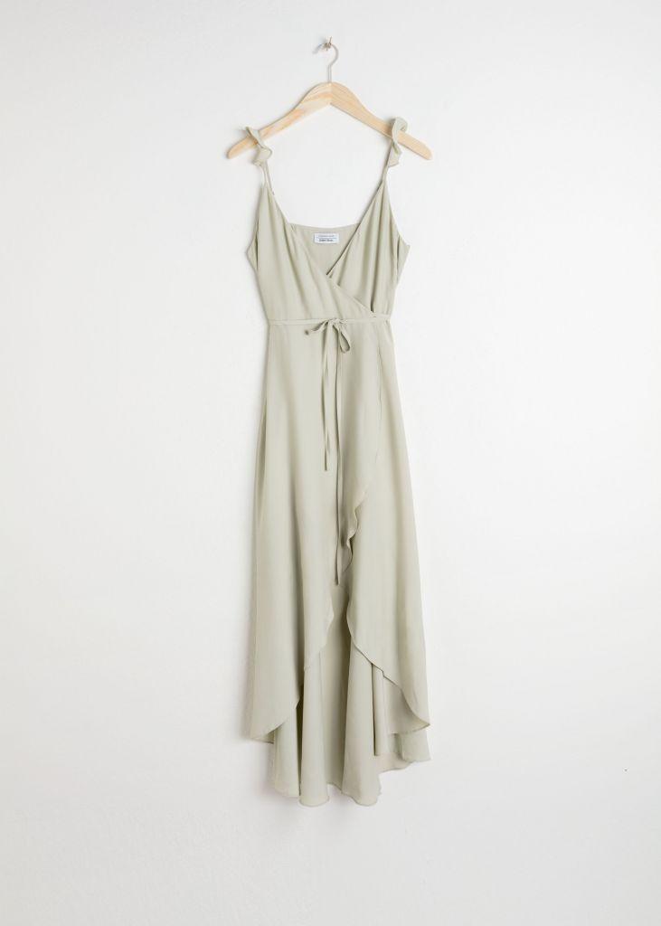 Vestido-verde-salvia-Rachel Green