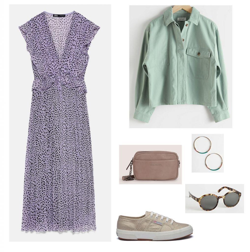 look-vestido-lila-estampado
