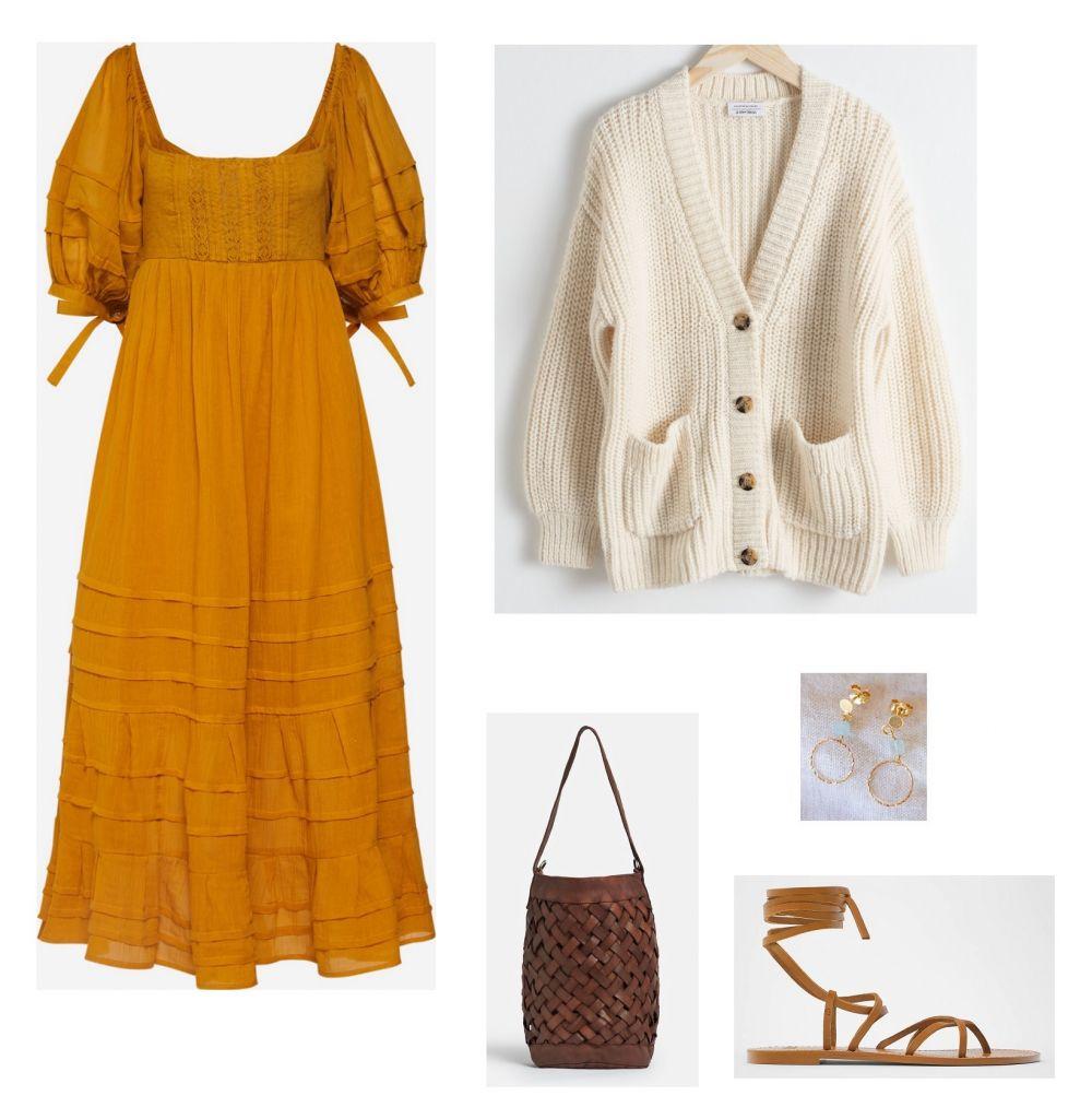 look-vestido-mostaza