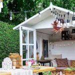 casetas-jardín-decoración
