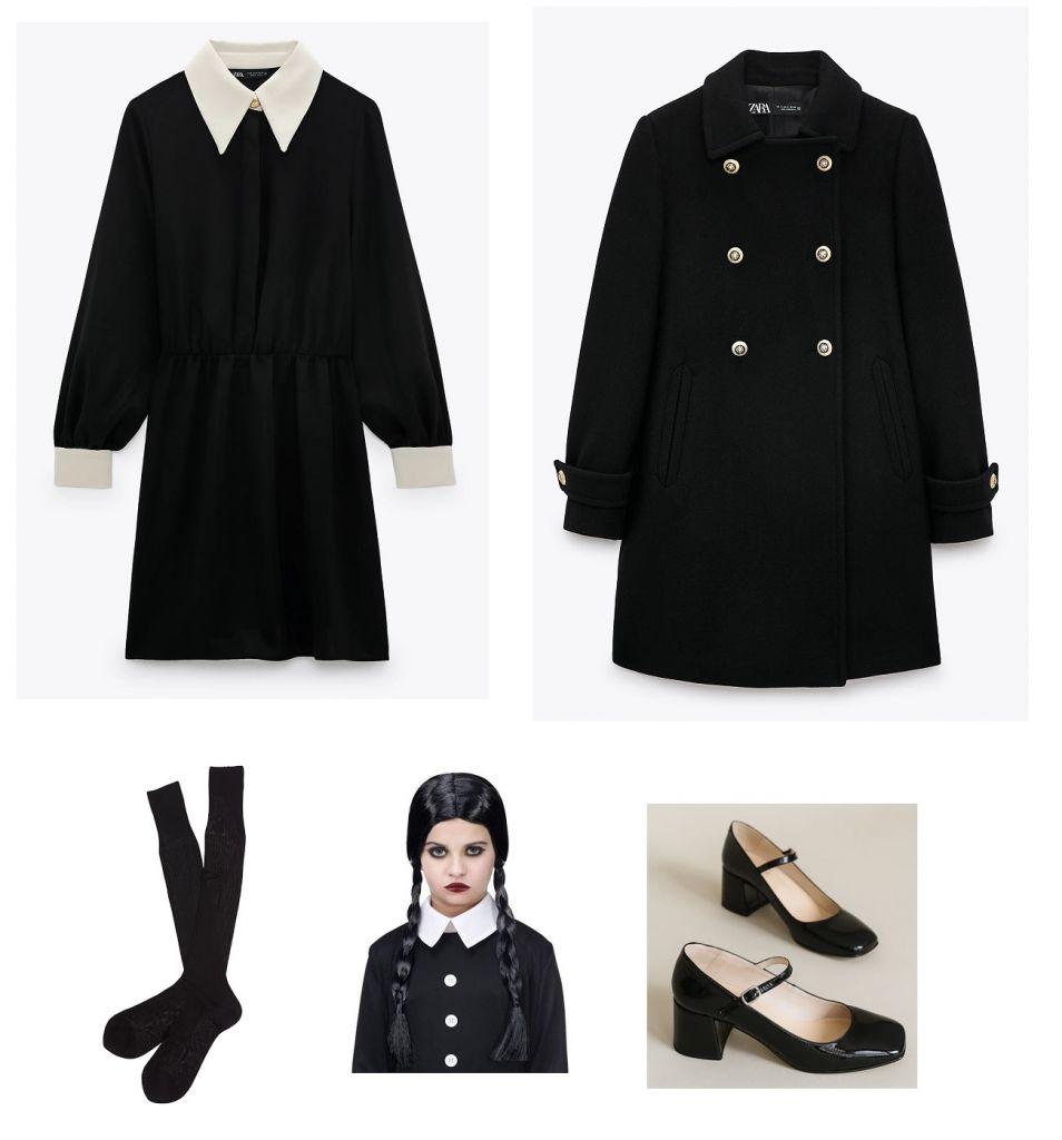 look-miercoles-addamas-vestido-cuello