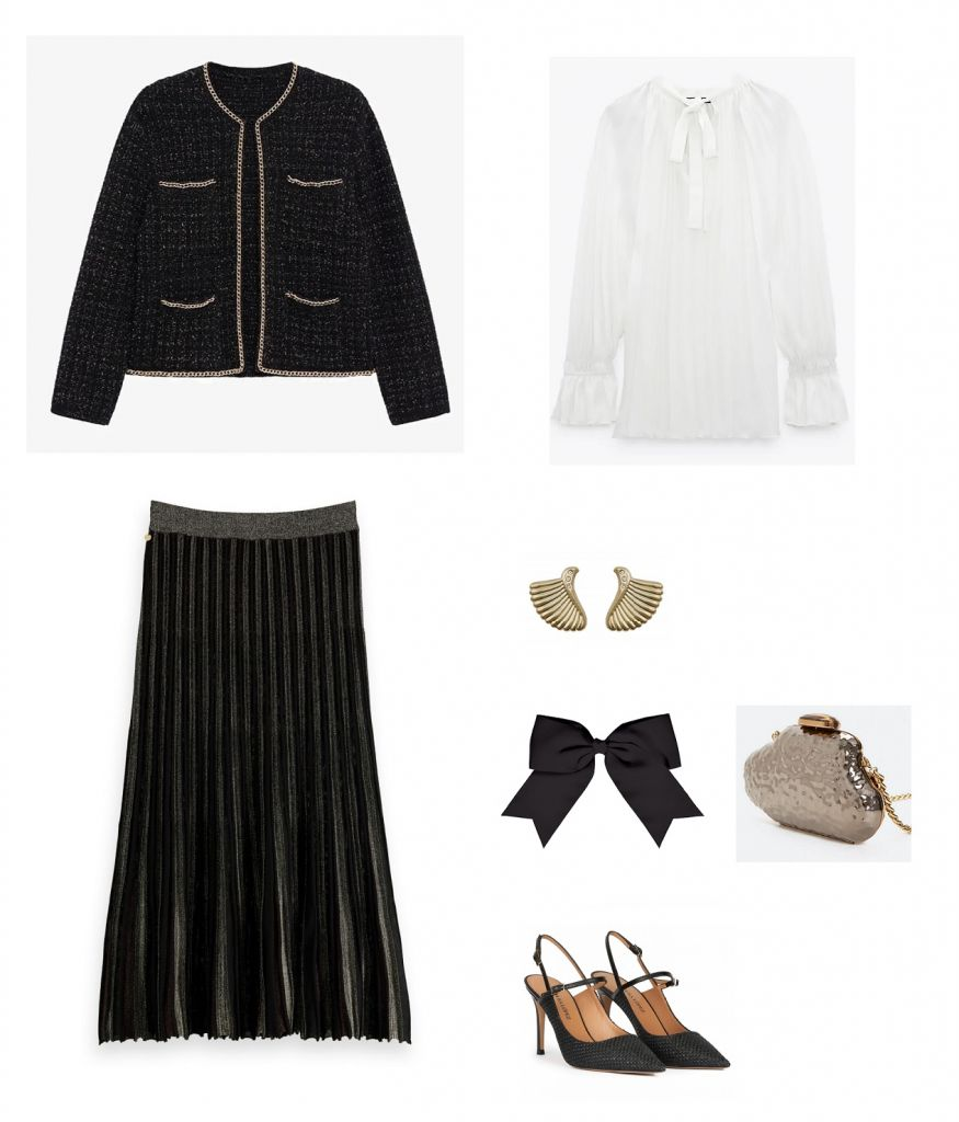 look-invitada-falda-midi