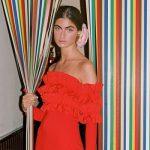 looks invitadas vestido rojo