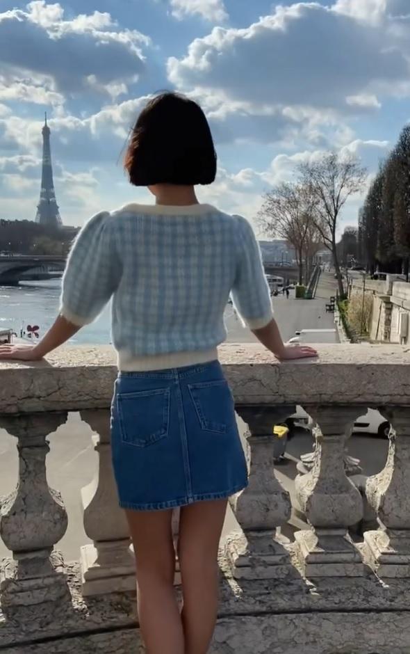 Looks con falda vaquera
