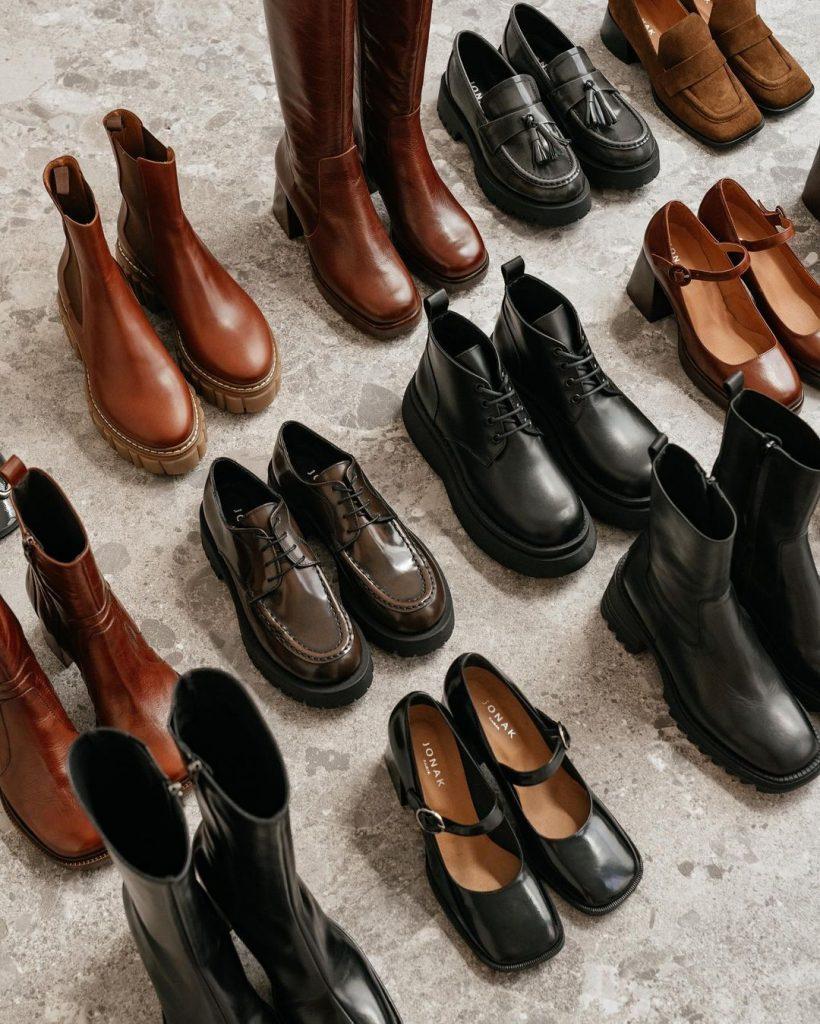 botas, botines, zapatos de plataforma tendencias otoño