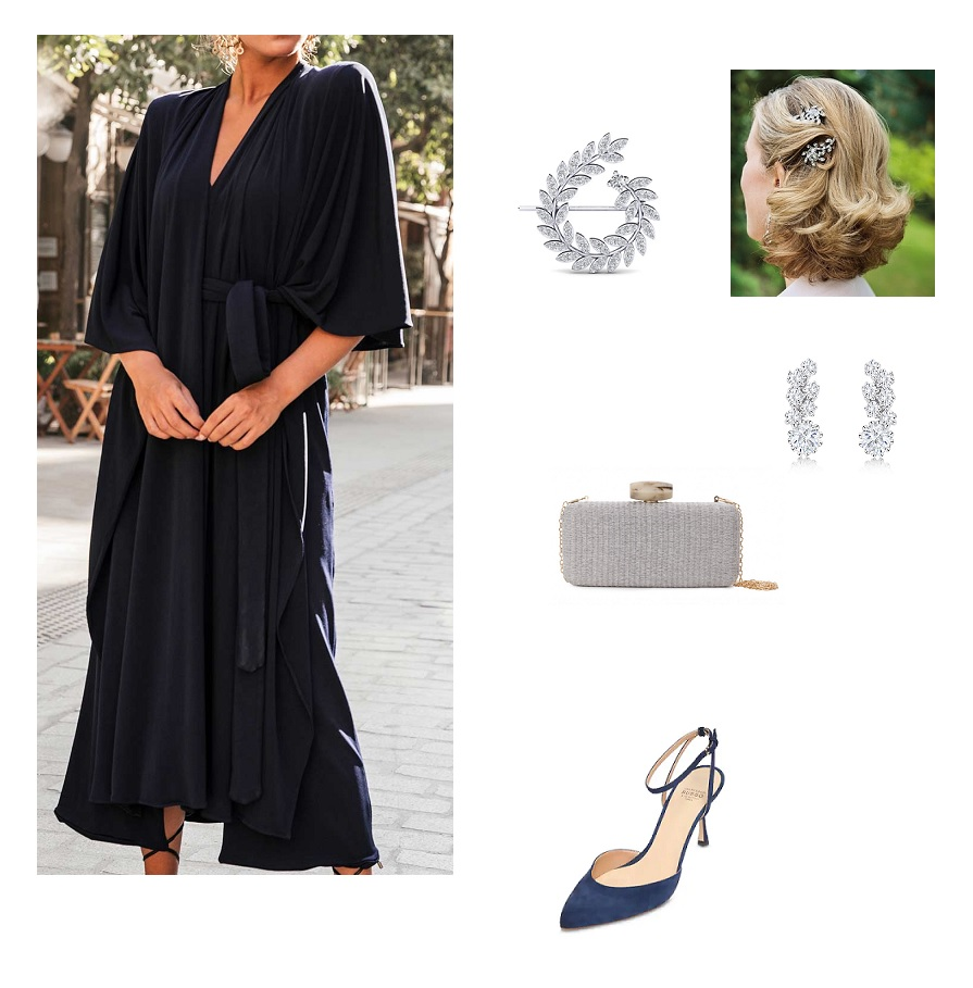 look-invitada-vestido-azul-marino